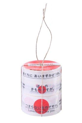 カモ井加工紙 マスキングテープ 25MM幅×10M巻 MTOKOK02 Mt okokoro tape 3巻パック