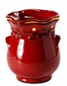 COUNTRY CROCK RED FRAGRANCE WARMER - WAX MELTER by AmbiEscents