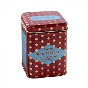 Mariebelle York Aztec Spicy Hot Chocolate 6 Oz Red Tin