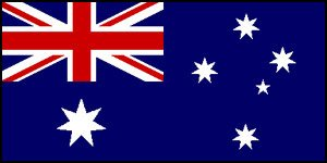 Large Fabric Australian Ozzie Flag 5x3 Foot