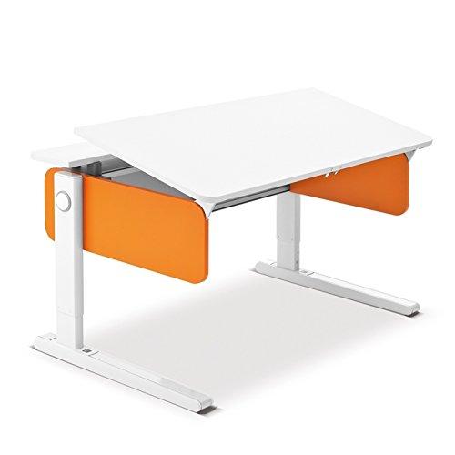 Moll Champion Style Front Up Schreibtisch | orange | 120 x 72 x 53-82 cm (Breite x Tiefe x Höhe) | höhenverstellbar jetzt kaufen