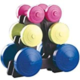 York Family Dumbbell Weight Set and Stand Picture