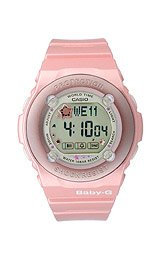 Baby-G Puppy's Resin Strap Digital Grey Dial Women's watch #BG-1300PP-4DR