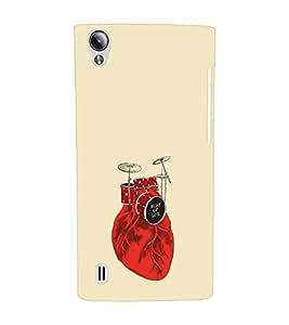 EPICCASE Beat of life Mobile Back Case Cover For Vivo Y15 (Designer Case)