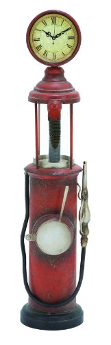 Free Standing Vintage Gas Pump Floor Clock