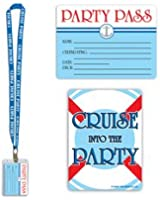 Cruise Ship Party Pass Party Accessory (1 count) (1/Pkg)