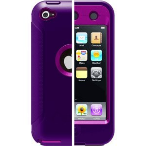 OtterBox Defender Series for iPod touch 4th Generation(Purple)