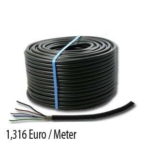 Erdkabel Installationskabel NYY-J 5x1,5mm² 25m Ring