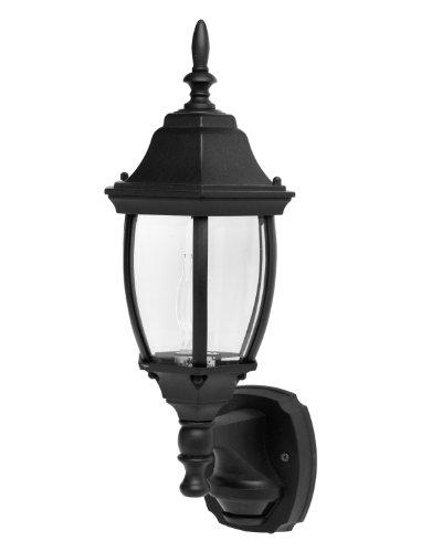 designers-edge-l-2572blk-ecozone-18-inch-dual-eye-motion-activated-coach-lantern-black