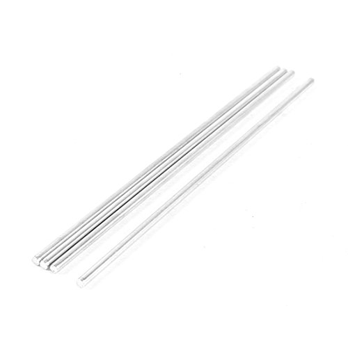 4pcs 100mm x 2mm Metal Round Rod Axles for RC Camper Model - 1