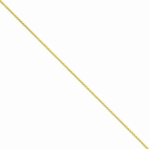 Leslies Real 14kt Yellow Gold 1.5 mm Cyclone Chain; 18 inch