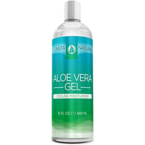 instanatural aloe vera gel f r gesicht haare k rper organisch 100 rein nat rlich. Black Bedroom Furniture Sets. Home Design Ideas
