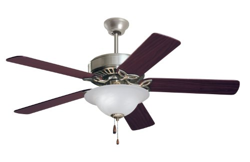 Emerson Cf712Bs Pro Series Indoor Ceiling Fan, 50-Inch Blade Span, Brushed Steel Finish front-439403
