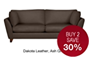 Barletta Large Sofa - Leather