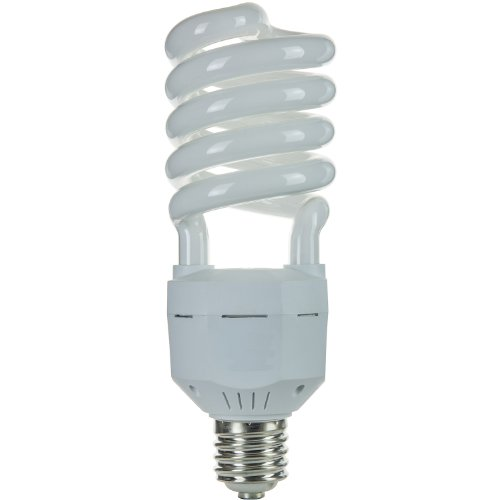 Sunlite SL65/65K/MOG 65 Watt High Wattage Spiral Energy Saving CFL Light Bulb Mogul Base 120 Volt Daylight