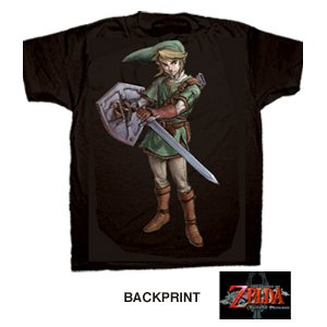 Nintendo Legend of Zelda Twilight Princess Heroic Link T-Shirt