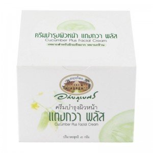 Abhaibhubejhr Cucumber Plus Facial Cream 45g Thailand Product isme rasyan herbal clove toothpaste product of thailand