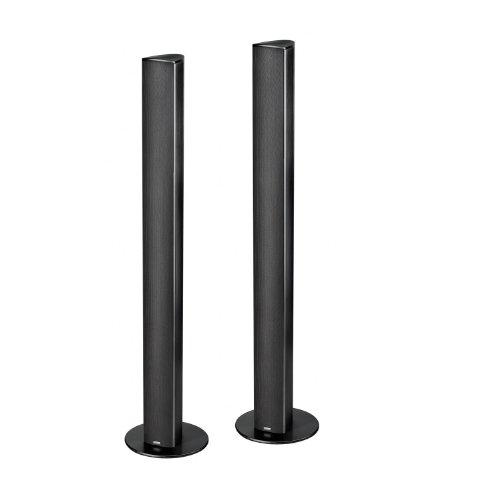 Magnat-Needle-Alu-Super-Tower-Design-Lautsprecher-schwarzalu-gebrstet-Paar