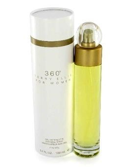 Perry Ellis 360 Eau de toilette Spray for Women, 3.4 Ounce