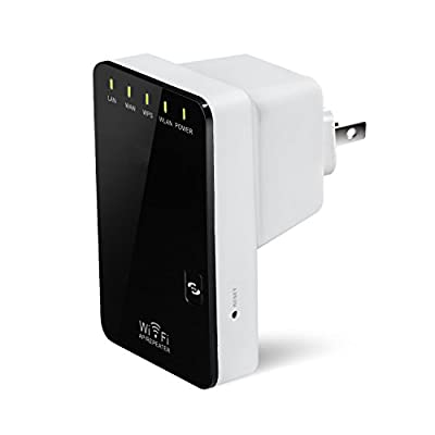 XINGDONGCHI Wireless-N 300Mbps Mini WiFi AP Range Extender Booster Amplifier,with WPS Push button