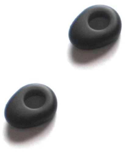 2Pcs New Black Small Size Good Quality Earbuds For Motorola H12 H15 H270 H780 H620 H560 H390 H385 H375 H371 H790 H680 H681 H690 H691 H695 Wireless Bluetooth Headset H-12 15 270 780 620 560 390 385 375 371 790 680 681 690 691 695 Ear Gel Bud Tip Gels Buds