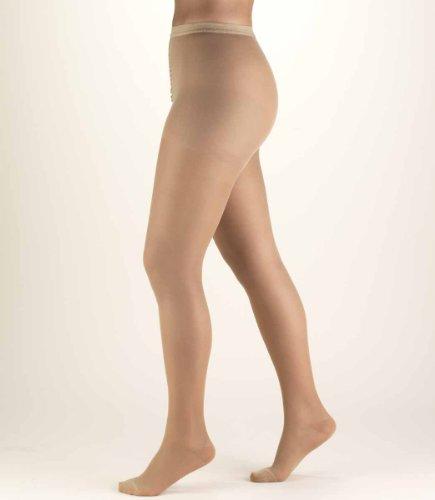 """Truform Ladies Fashion Pantyhose Closed Toe, 10-20 Mmhg Medium Nude"""