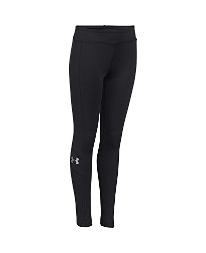 Under Armour Women's ColdGear Infrared Legging, Black (001), Youth X-Small