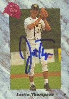 Justin Thompson Minnesota Twins 1991 Classic Draft Picks Autographed Hand Signed... by Hall+of+Fame+Memorabilia