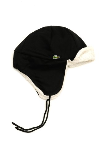 Men's Sherpa Lined Trapper Hat With Ear Flaps