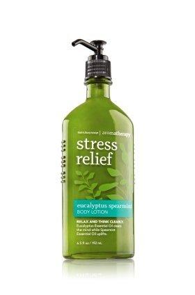 Bath & Body Works Aromatherapy Stress Relief Eucalyptus Spearmint Body Lotion, 6.5 fl oz
