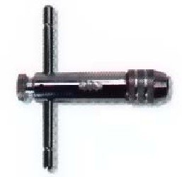 Irwin Tools 21201- T-Handle Ratcheting Tap Wrench For Tap Sizes No. 0 to 1/4