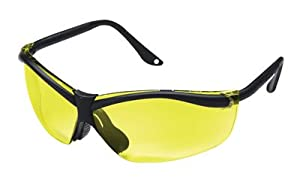 Buy 3M Peltor X-Factor Glasses Black Frame Yellow 90966 by 3M