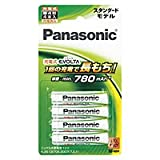 パナソニック 充電式エボルタ 単4形 4本パック BK-4MLE/4B