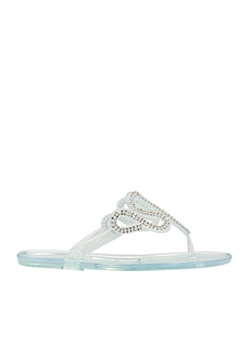 Do The Wave Jeweled Jelly Sandals front-216041