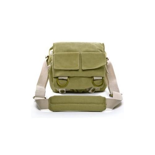 Cosmos ® Khaki Green Shoulder Canvas Outdoor Camera Bag 75