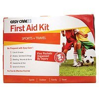 Easy Care Sport and Travel First Aid Kit with EZ Care system, 1 ea by Easy Care