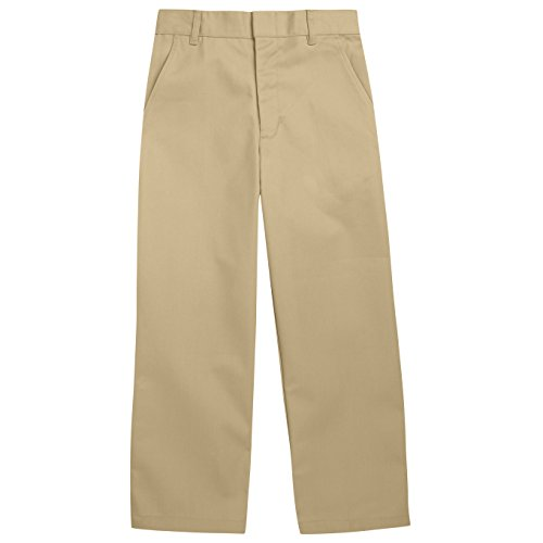 French Toast School Uniforms Double Knee Pant Workwear Finish Boys khaki 14