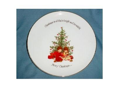 porcelain-holly-hobbie-commemorative-edition-collector-plate-by-holly-hobbie