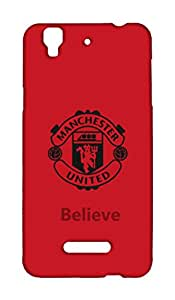Micromax YU Yureka Manchester United Football Club Design Back Cover - Printed Designer Cover - Hard Case - MYUYRKCMBMUFC0166