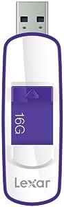 Lexar LJDS73-16GABEU JumpDrive S73 - Clé USB 3.0 - 16 Go Violet/Blanc