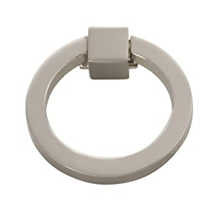 Hickory Hardware P3190-SN Camarilla Ring Pull, Satin Nickel