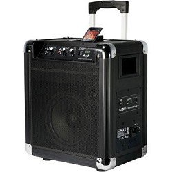 ION Audio IPA16 BLOCK ROCKER AM/FM Portable Speaker System for iPod