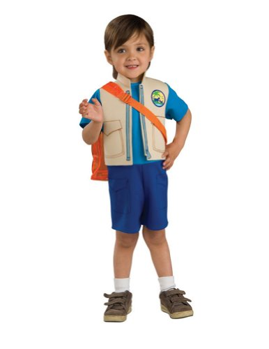 boys - Go Diego Go Halloween Costume - Child Small