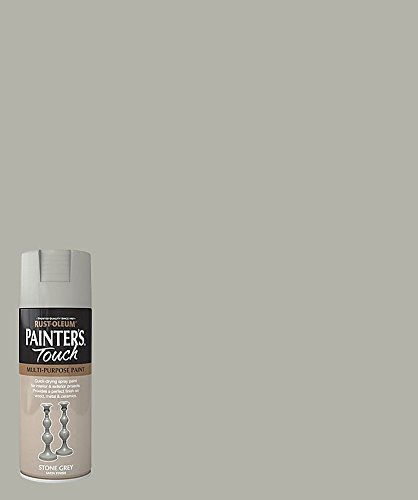 rust-oleum-ae0050010e8-400ml-satin-painters-touch-spray-paint-stone-grey