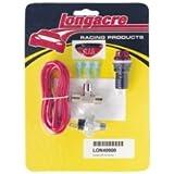 Longacre 40000 Oil Pressure Gauge with Warning Light Kit
