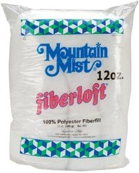 Bulk Buy: Mountain Mist Fiberloft Polyester Stuffing 12 Ounce Bag FOB:MI 302MM (30-Pack)