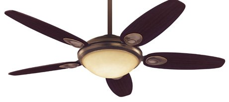 Minka-Aire F519-WH 52-inch Concept II Flush Mount Ceiling Fan