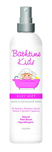 Bathtime Baby Silky Soft Leave-In Detangler Spray 8 oz