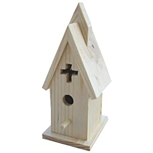 3 Church Bird House