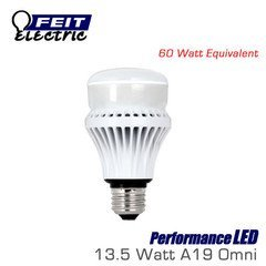 Feit Electric PerformanceLED 13.5 Watt LED Omni - 60W Incandescent Dimmable Replacement Bulb